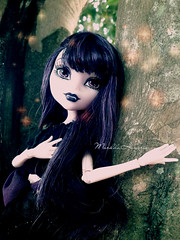 (The Doll Side [  MarildaHungria  ]) Tags: doll vampire monsterhigh elissabat
