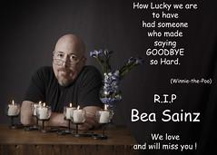 SMILE95 (cptesco) Tags: flowers love death candles bea rip hard bald lucky randy someone goodbye miss sainz randle mcbay