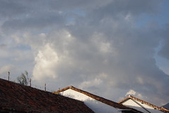 Villa de Leyva, Colombia (ARNAUD_Z_VOYAGE) Tags: street cloud color colour church colors beautiful architecture clouds america de landscape town site amazing colombia catholic colours view cross action roman south centro colonial central american villa huge region department province active leyva centrale municipality boyac ricaurte
