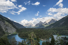 """Landscape"" (helmet13) Tags: trees sky panorama mountains nature clouds forest germany landscape austria raw silence thealps dimension mountainlake zugspitze aoi fernpass mountainvalley 100faves blindsee peaceaward heartaward platinumheartaward world100f platinumheartshalloffame platinumpeaceaward worldpeacehalloffame d800e steeprockslope"