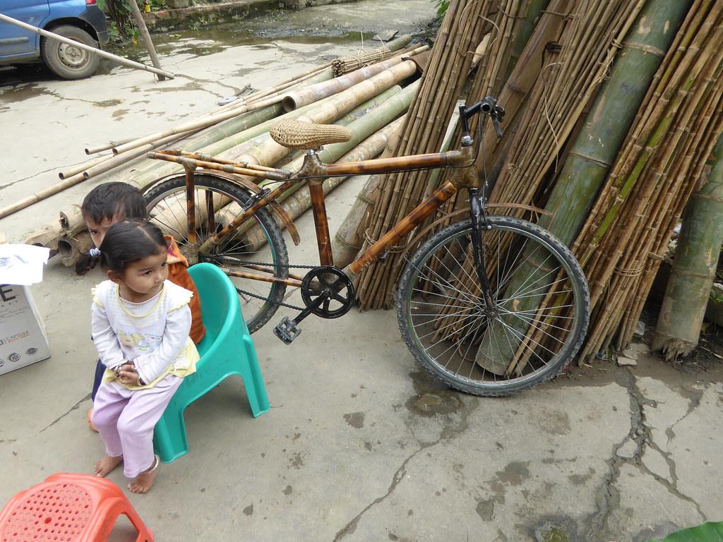 Bamboo bike!