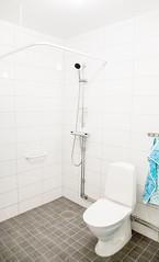 Visningslägenhet - badrum