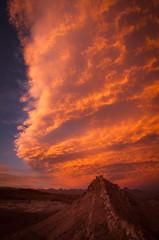 Front sunset (ckocur) Tags: chile atacama sanpedrodeatacama northernchile atacamadesert