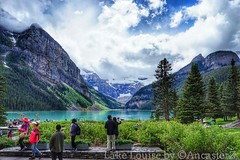 Lake Louise (AncasterZ) Tags: mountain lake rockies rockymountains lakelouise canadianrockies