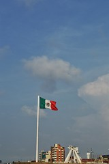 Malecn pt 1 (mdemickey) Tags: city mxico flag bandera build malecn coatzacoalcos d3200