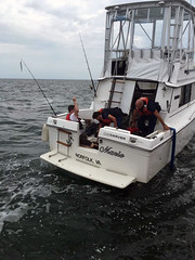 Sinking vessel off Virginia Beach (Coast Guard News) Tags: uscg coast guard d5 virginia virginiabeach littlecreek station smallboat dewater dewatering p6pump flooding sinking unitedstates us
