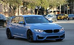 BMW M3 (F80) (SPV Automotive) Tags: blue sports car sedan exotic bmw f80 m3