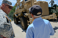 Harold Billow tours FTIG 22_DSC3585 (PANationalGuard) Tags: veterans vet vets veteran visiting visit wwii ww2 ftig fig fortindiantowngap ftindiantowngap military