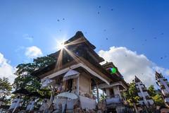 Hope (Pei Chen Lu) Tags: bali lempuyang indonesia outdoor religion hindu sunshine birds flying bluesky sky travel culture
