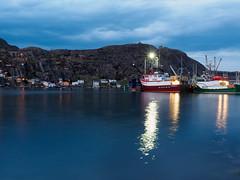 Boats at Night (Tk_White) Tags: reflection st night boats lumix long harbour panasonic shutter southside 28 johns gx8 1235mm