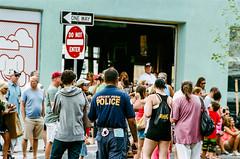 gathering crowd (mfauscette) Tags: 35mm fsc ishootfilm istillshootfilm kodak kodakportra400 nikon nikonf6 analog asburypark film filmisnotdead filmshooterscollective jerseyshore street