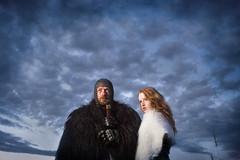 Where We've Been (davebrosha) Tags: purple game thrones creative artistic photoshoot sword armor redhead redhair