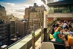 Rooftop bar, Chelsea (Arutemu) Tags: nyc ny newyork newyorkcity nuevayork manhattan urban usa us unitedstates america american a7r sonya7r ilce ilcea7r mirrorless sigma 24mm city cityscape ciudad view metropolis manualfocus midtown midtownmanhattan chelsea