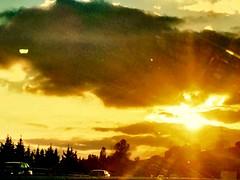 """Resplandor"" (atempviatja) Tags: resplandor sol luz autos carretera"