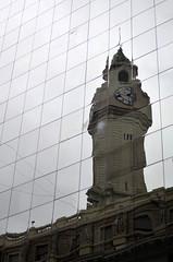 Reflejos / Reflexes (ramirofmunicoy) Tags: reflejos buenosaires bsas caba argentina reloj reflexes clock
