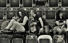 Curious (heiko.moser ( 9000000 views )) Tags: sw schwarzweiss street strasse streetart streetfotografie schwarzweis streetportrait streetfoto people personen publicity person portrait leute teen teens discover entdecken einfarbig eyecatch frau women woman young youngwoman girl bw blackwihte blancoynegro noiretblanc nb nero menschen monochrom mann man mono canon candid city heikomoser