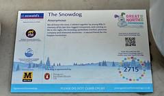 The-Snowdog-F-23-September-2016 (Steve Ellwood Whitley Bay) Tags: greatnorthsnowdogs thesnowdog ouseburn limestreet thesevenstories ellwood steveellwood