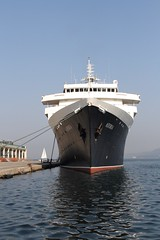 Just what an ocean liner should look like. (Chris Firth of Wakey.) Tags: mvastoria oceanliner italy trieste