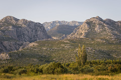 Paklenica view (Dino Barsic) Tags: view paklenica park velebit mountains canyon nature sunset landscape sky skyline croatia starigrad europe balkan day outdoor hill mountainside canon600d