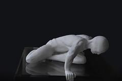 The abyss (Loris Rizzi) Tags: bw blackwhite biancoenero statua abyss