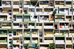 Unusual buidling (ole) Tags: patchwork pattern architecture kuala lumpur malaysia