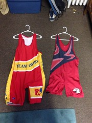 Team Ohio and old club singlet For Sale (tms235) Tags: l xl singlet teamohio usawrestling ohiowrestling