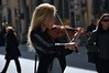 The Street Musician (faungg's photos) Tags: street people musician woman rome photography italian candid snapshot musical 旅游 人物 violinist 人像 欧洲 意大利 街拍 罗马 摄影 抓拍 faungg