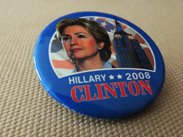 Hillary Clinton 2008 Campaign Button