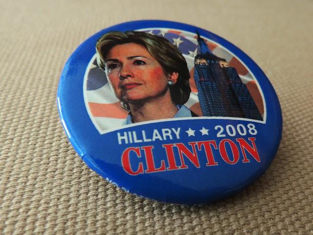 Hillary Clinton 2008 Campaign Button