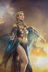 Perianth (Hidrico) Tags: sexy female photography legs blossom dancer belly exotic fantasy armor blonde bellydance beautyful