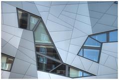 geometry and light (stevefge) Tags: netherlands glass modern buildings nijmegen reflections nederland archtecture tonemap nederlandvandaag