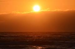 Vlieland - Vliehors - hazy sunset (Dirk Bruin) Tags: sunset vlieland zonsondergang