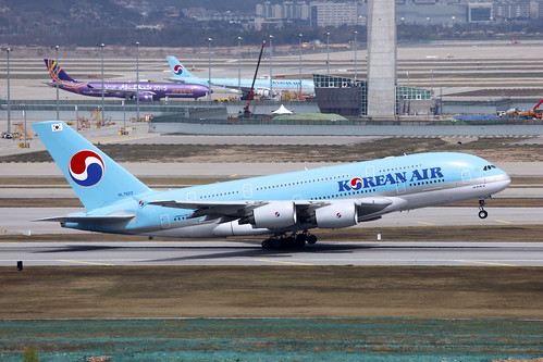 From flickr.com: Korean Air, Incheon International Airport (ICN), Seoul South Korea