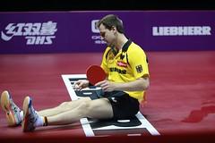 BOLL_Timo_WTTC2015_R_G_3706r (ittfworld) Tags: world sport ball championship shanghai emotion action young tennis tabletennis junior championships chine