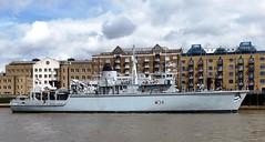 HMS Middleton (10) @ HMS President 25-04-15 (AJBC_1) Tags: uk england london boat ship unitedkingdom military navy vessel riverthames nato warship rn royalnavy hmspresident mcv britisharmedforces hmsmiddleton m34 navalvessel minecountermeasuresvessel dlrblog ajc