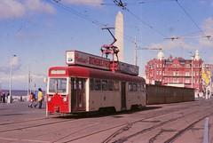 BS0222 4 BLACKPOOL SUN 02.10.1977 (davruss001) Tags: 4 tram 1977 blackpool
