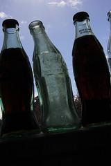 IMG_8527 (ultomatt) Tags: glass vintage bottles pop soda cocacola cokebottles