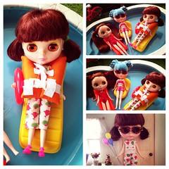 Random pics I forgot to upload (Jenni @ Good Dolly) Tags: swimmingpool springbreak powwowponcho casualaffair mandycottoncandy