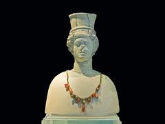 Halsband / Necklace (schreibtnix) Tags: italien italy travelling statue museum necklace reisen europa europe antique jewellery sicily schmuck halsband antik sizilien aidone olympuse5 schreibtnix