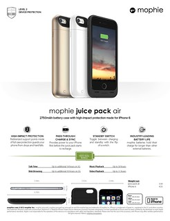 Mophie First Product Launch In Singapore