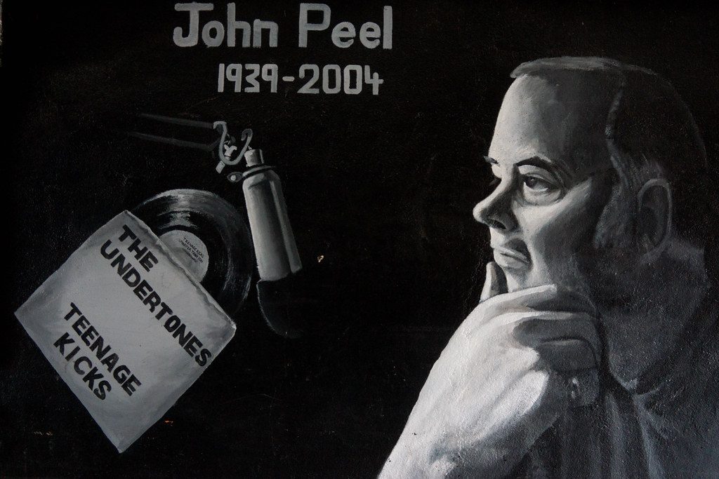 Street Art In Belfast [John Peel And The Undertones] REF-104676