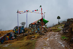 Buddhist shrine along Sandakphu & Singalila Trail, West Bengal, India (CamelKW) Tags: india buddhism westbengal buddhistshrine sandakphusingalilatrek sandakphusingalilatrail