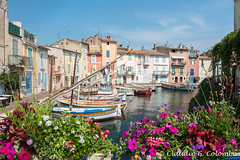 Martigues (Provence, France) (clodio61) Tags: old city flowers urban house france color building water horizontal french photography harbor boat ancient europe day cityscape exterior outdoor traditional row historic provence typical martigues bouchesdurhone provencealpescotedazur