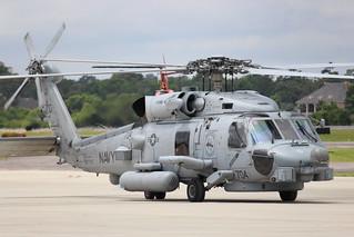 704, Navy MH-60R Seahawk, HSM-74, Swamp Fox, North Myrtle Beach, South Carolina, Memorial Day 2016, (3)