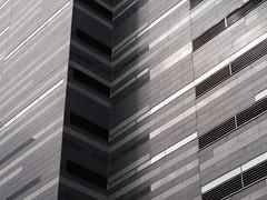Quelques niveaux de gris (loupbrun) Tags: abstract texture geometric architecture abstrait gomtrique