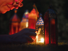 Light the way [30/52] (Jam-Gloom) Tags: project52 52weeks 52weekproject 52 project week weeks olympusomdem5 olympusomd omd em5 olympus uk olympusuk candlelight candle tealights lantern lanterns depthoffield moroccan turkishlamp turkishlantern moroccanlantern 25mm14 panaleica nighttime night dark light lanternlight portrait portraiture lighttheway week30 30