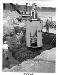 Barkley Dam Construction Project (NashvilleCorps) Tags: barkley barkleydam construction concreteplacement cumberlandriver usace corpsofengineers nashvilledistrict 1959 barkleylock kentucky