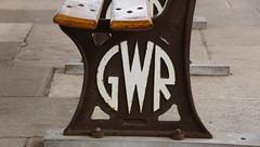 Gods Wonerful Railway still the name servives, (Ben Grader) Tags: station chair seat sony platform railway sit tamron settle yatton 18270 slta77