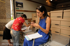 Packing The Petitions (Greenpeace USA 2016) Tags: colorado ban fracking petition truck delivery fossilfuel oil gas denver coalition