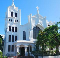Key West (Florida) Trip 2015 0457Ri (edgarandron - Busy!) Tags: building church buildings keys florida churches keywest floridakeys duvalstreet stpaulsepiscopalchurch